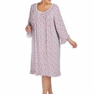 Eileen West Nightgown Modal NEW Waltz Gown Floral